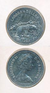 Canada 1980 1 dollar