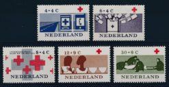 Nederland 1963 100 jaar Rode Kruis NVPH  795-99
