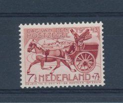 Nederland 1943 Dag van de postzegel, postkoets NVPH 422