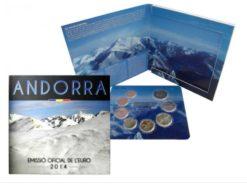 Andorra 2014 BU set