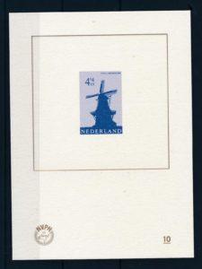 Nederland 2012 Blauwdruk Stellingmolen