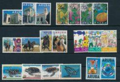 Aruba 1995 Complete jaargang postzegels postfris
