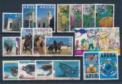 Aruba 1995 Complete jaargang postzegels gestempeld