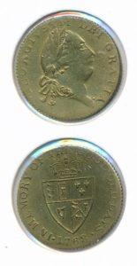 Jeton 1768 Georgius III