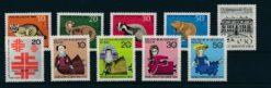 Duitsland Berlijn 1968 Complete jaargang postzegels postfris