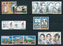 Aruba 1996 Complete jaargang postzegels postfris