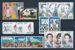 Aruba 1996 Complete jaargang postzegels gestempeld