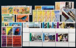 Suriname Onafhankelijk 1986 Complete jaargang postzegels postfris