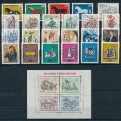 Duitsland Berlijn 1969 Complete jaargang postzegels postfris