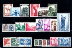 Belgie 1954 Complete jaargang postzegels postfris