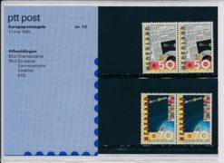 Nederland 1983 Europapostzegels PZM12
