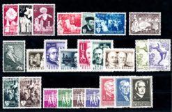Belgie 1955 Complete jaargang postzegels postfris