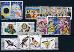 Aruba 1998 Complete jaargang postzegels gestempeld