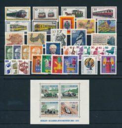Duitsland Berlijn 1971 Complete jaargang postzegels postfris