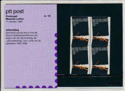 Nederland 1983 Postzegel Maarten Luther PZM15