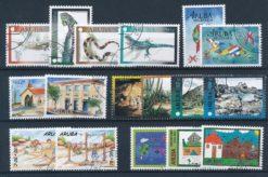 Aruba 2000 Complete jaargang postzegels gestempeld