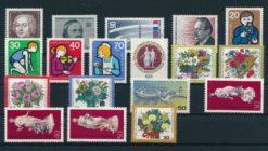 Duitsland Berlijn 1974 Complete jaargang postzegels postfris