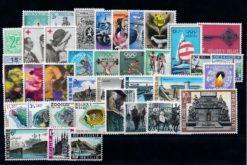 Belgie 1968 Complete jaargang postzegels postfris