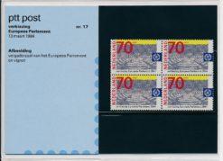 Nederland 1984 Verkiezing Europees Parlement PZM17