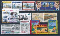 Aruba 2002 Complete jaargang postzegels gestempeld