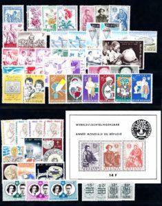 Belgie 1960 Complete jaargang postzegels postfris