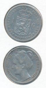 Nederland 1905 1 Gulden Wilhelmina
