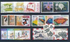 Aruba 2003 Complete jaargang postzegels gestempeld