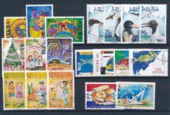 Aruba 2004 Complete jaargang postzegels gestempeld