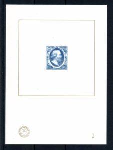 Nederland 2004 Blauwdruk de eerste Nederlandse postzegel
