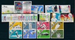 Aruba 1986 Complete jaargang postzegels postfris