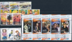Aruba 2005 Complete jaargang postzegels gestempeld
