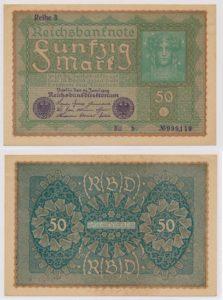 Duitsland 1919 50 Mark bankbiljet