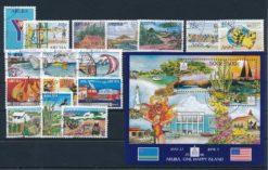 Aruba 2006 Complete jaargang postzegels gestempeld