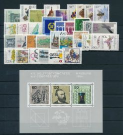 Duitsland Bondsrepubliek 1984 complete jaargang postzegels postfris