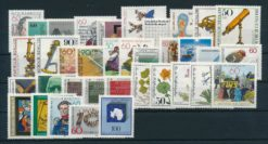 Duitsland Bondsrepubliek 1981 complete jaargang postzegels postfris