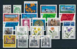 Duitsland Berlijn 1980 complete jaargang postzegels postfris