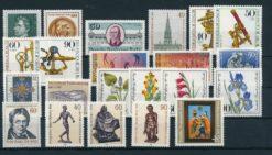 Duitsland Berlijn 1981 complete jaargang postzegels postfris