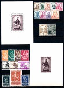 Belgie 1942 Complete jaargang postzegels postfris
