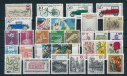 Duitsland Berlijn 1982 complete jaargang postzegels postfris