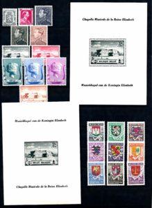 Belgie 1940 Complete jaargang postzegels postfris