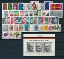Duitsland Bondsrepubliek 1975 Complete jaargang postzegels postfris