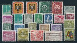 Duitsland Berlijn 1956 Complete jaargang postzegels postfris