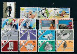Aruba 1987 Complete jaargang postzegels postfris