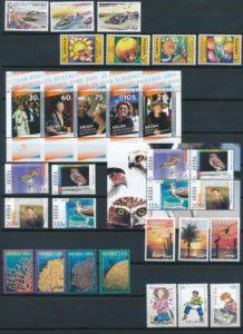 Aruba 2005 Complete jaargang postzegels postfris