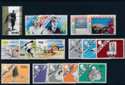 Aruba 1987 Complete jaargang postzegels gestempeld