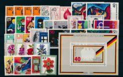 Duitsland Bondsrepubliek 1974 Complete jaargang postzegels postfris