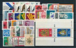 Duitsland Bondsrepubliek 1973 Complete jaargang postzegels postfris