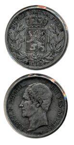 Belgie 1852 5 francs