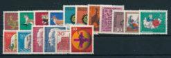 Duitsland Bondsrepubliek 1967 Complete jaargang postzegels postfris
