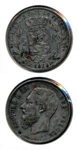 Belgie 1873 5 francs